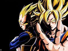 Dragon Ball Z (dbz)- Goku and Vegeta Fotos Dragon Ball, Dragon Ball Z Goku, My Hero Academia Mina, Manga Anime, Anime Naruto, Manga Dragon, Cartoon Dragon, Goku Wallpaper, Dragonball Wallpaper