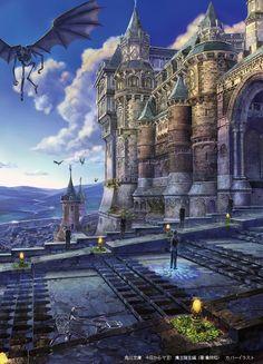 血盟城からの景色