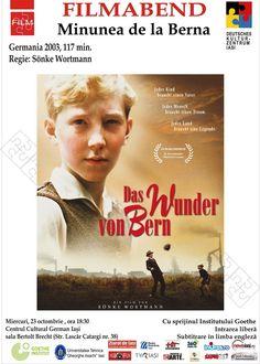 """Seara de film german: """"Minunea de la Berna"""""""