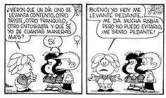 Mafalda. Ha Ha Ha! It happens...