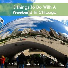 Chicago is quickly becoming a popular tourist attraction. If you travel to the Windy City, be sure to try these five things!