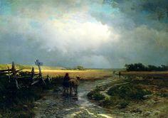 Фёдор Васильев После дождя 1867-69