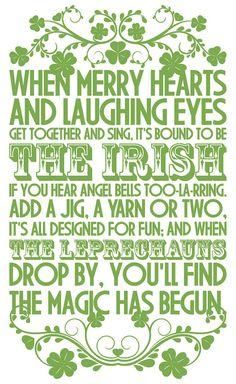 - The Irish -
