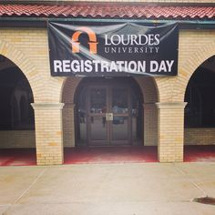 The beginning of registration week 2015. Welcome class of 2019!