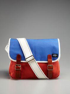 Jack Spade Saddle Messenger Bag, $129