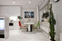 Um dos grandes desafios na organização e decoração de apartamentos pequenos é conseguir se livrar daquela sensação de sufoco que alguns ambientes com pouco