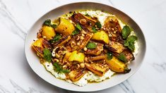Marinated Zucchini with Hazelnuts and Ricotta Recipe | Bon Appetit