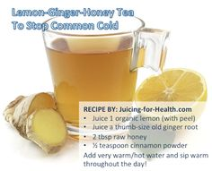 Be Rid of Common Cold — Juicing For Health