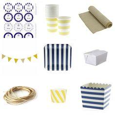 Productos para fiesta infantil marinero