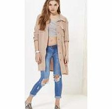 boohoo Belted Fluid Utility Jacket - stone azz17462 Breathe life into your new season layering with the latest coats and jackets from boohoo. Supersize your silhouette in a quilted jacket, stick to sporty styling with a bomber, or protect yourself from http://www.comparestoreprices.co.uk/womens-clothes/boohoo-belted-fluid-utility-jacket--stone-azz17462.asp