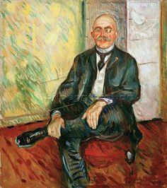Gustav Schiefler, Landgerichtsdirektor in Hamburg und Kunstsammler (Förderer Edvard Munchs) Edvard Munch