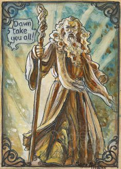'Dawn take you all!' by Soni Alcorn-Hender
