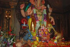 Marziya Stands on a Chair To Shoot Lord Ganesha