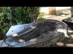 Cách làm khay giả gốc cây║ Making a root tray - YouTube