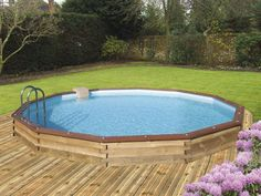 1000 ideas about piscine hors sol bois on pinterest for Piscine teck semi enterree