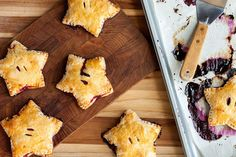 How to Make Star-Shaped Berry Hand Pies | eHow