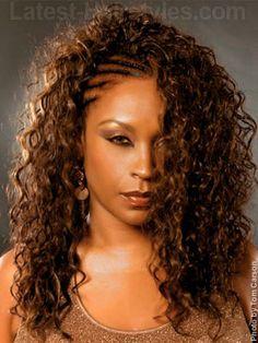 Pleasing Cornrows Black Hairstyles And Curly Weaves On Pinterest Short Hairstyles Gunalazisus