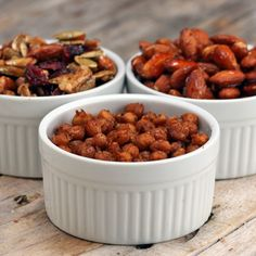 3 Easy Sheet Tray Snacks by Tasty. Sweet and spicy nuts, trail mix, spiced chickpeas Food Network Recipes, Dog Food Recipes, Snack Recipes, Cooking Recipes, Savory Snacks, Yummy Snacks, Yummy Food, Healthy Eating Recipes, Healthy Snacks
