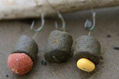 Köderkombinationen mit Halibut Pellets, Boilies und Fake-Mais | Beit-combi for carp: pellets. boilies and fake sweetcorn