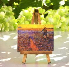 Vincent van Gogh - Table Canvas on Easel by #ForMomentsinTime on Etsy