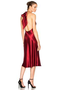 a8bc0f16355d0 Cushnie et Ochs Marlena Dress in Ruby