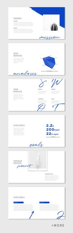 Cool & Simple Point Presentation Template #keynote #minimal #business #marketing #portfolio