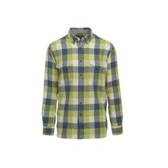 Men's Woolrich Stone Rapids Eco-Rich Shirt ($59) ❤ liked on Polyvore featuring men's fashion, men's clothing, men's shirts, men's casual shirts, plaid shirts, mens button down shirts, mens casual button down shirts, men's buffalo plaid shirt, mens long sleeve button up shirts and mens long sleeve casual shirts