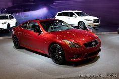 2015 Coupe in a stunning red at 2015 Infiniti, Chicago Auto Show, Jeep Truck, Vroom Vroom, Jeeps, Dream Cars, Trucks, Models, Star