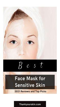 Acne Face Mask, Best Face Mask, Diy Mask, Best Face Products, Sensitive Skin