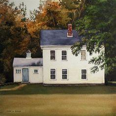 "Daily Paintworks - ""Homestead"" - Original Fine Art for Sale - © Kara K. Bigda"