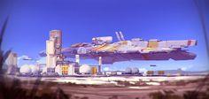 Gozan IV, Daniel Graffenberger on ArtStation at https://www.artstation.com/artwork/WgqdX