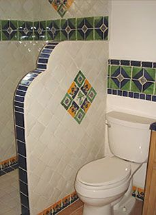Mexican Tile shower:
