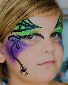 witch face painting for kids - Google Search