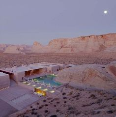 Amangiri Hotel by Aman Resorts at Canyon Point, Utah.