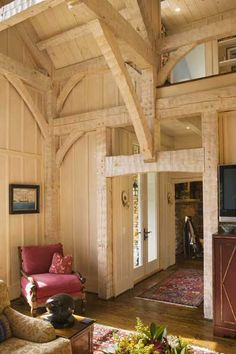 a closer look at Timberframe construction