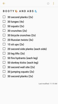 MY GO TO WORKOUT ROUTINE FOR BOOTY AND ABS | Jewel_Zoe