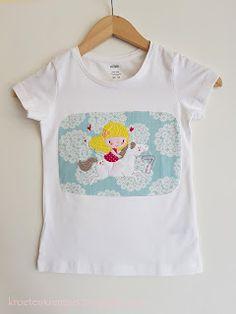 krötenkrempel: Pimp my Shirt - Springgirl