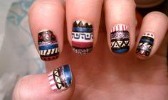 http://inlivinglacquer.tumblr.com/  vibrant tribal