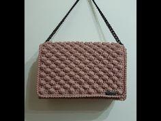 Μοναδική Χειροποίητη Τσάντα - Unique Handmade Bag - Handmade Sophie Greece - YouTube Crochet Handles, Chanel Boy Bag, Crochet Lace, Louis Vuitton Damier, Crochet Patterns, Pouch, Diy Bags, Shoulder Bag, Embroidery