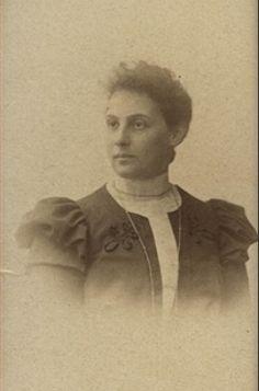 Grandparents; Alice Stern Frank, circa 1900