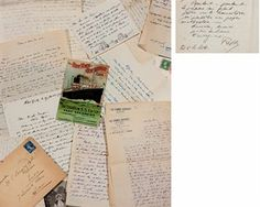 CENDRARS. Réunion de 379 lettres et cartes postales, dont 371 lettres autographes signées (Freddy, Ton Freddy, Blaise, Blaise Cendrars, ma m...