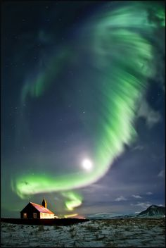 Iceland...northern lights ...such a unique place this is...