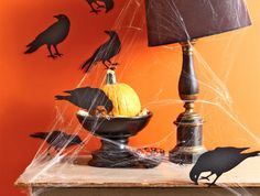 chic halloween dcor ideas that will delight not fright chic halloween chic halloween decor and halloween ideas - Martha Stewart Halloween Decor