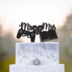 Video Game Wedding, Wedding Games, Wedding Book, Wedding Ideas, Wedding Stuff, Dream Wedding, Boat Wedding, Purple Wedding, Floral Wedding