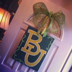 Sic 'em Bears! Clearly a #Baylor grad's home...