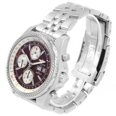 Breitling Bentley, Bentley Motors, Breitling Watches, Pre Owned Rolex, Stainless Steel Screws, Omega Seamaster, Luxury Watches, Michael Kors Watch, Chronograph