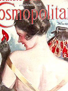 $75 Vintage Cosmopolitan Magazine 11/1925 Harrison Fisher Cover  (Image1)