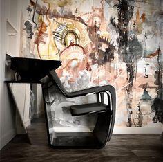For a stylish salon, choose our Tsu by Porsche styling chair. Enrico Gargano Hair GAMMA & BROSS USA Salon Chairs, Salon Ideas, Swivel Chair, Porsche, Queens, Boutique, Usa, Stylish, Wood