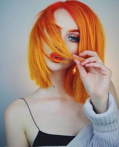 At home hair makeover now on my channel!♀️[link in bio and story] Hair dyes used are&; At home hair makeover now on my channel!♀️[link in bio and story] Hair dyes used are&; Dreads, Cheveux Oranges, Pelo Multicolor, Corte Y Color, Yellow Hair, Blue And Red Hair, Orange Ombre Hair, Dye My Hair, Cool Hair Color