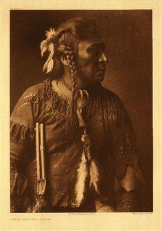 Horse Capture, an Atsina man.  1908. No additional information.